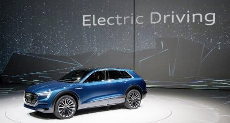 Carmakers set electrics to stun in Tesla battle