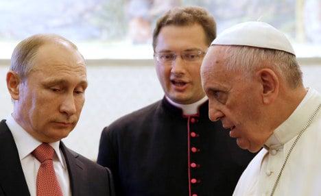 Pope Francis to meet Putin during UN visit