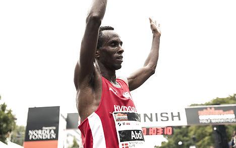 Former refugee becomes Danish running champ