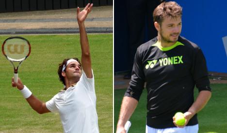 Federer faces Wawrinka in US Open final push
