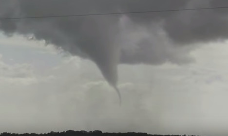 VIDEO: Violent tornado strikes western France