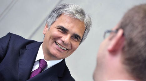 Solidarity not one way street says Faymann