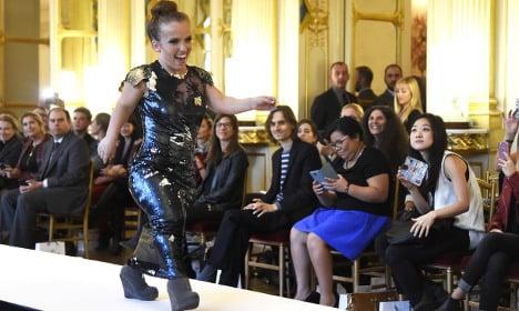 Small is beautiful: short models wow Paris