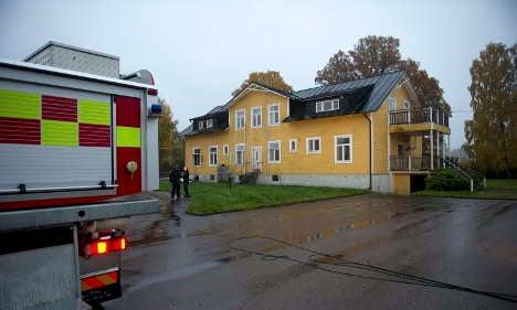Fresh arson fears as refugee home burns