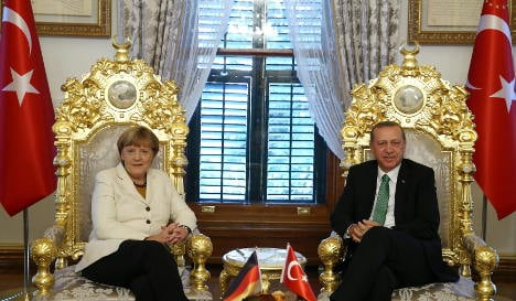 Merkel's deal with Turkey angers left and right
