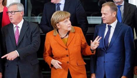Tensions high at EU, Balkans refugee summit