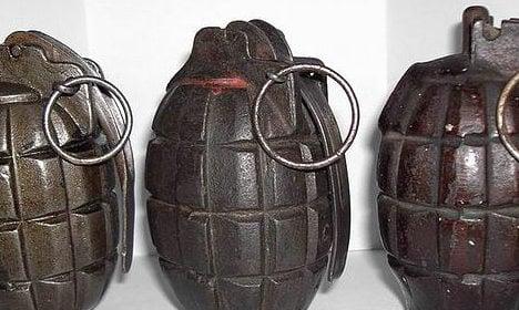 Panic as boy brings WWI grenade to Paris school