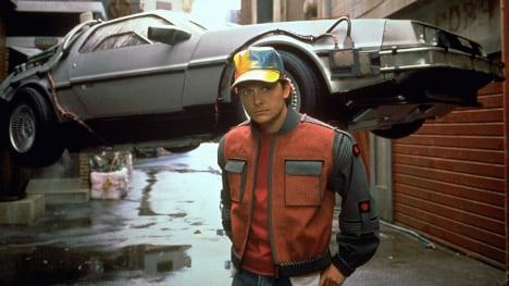 German news goes 'Back to the Future' for a day