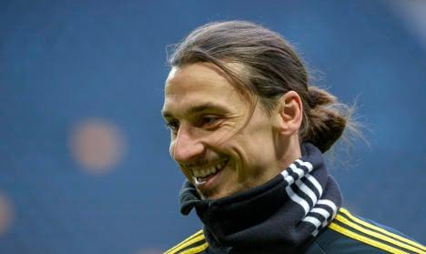 Zlatan celebrates 'most played' national anthem