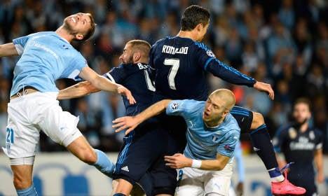 Ronaldo's double takes down Malmö at home
