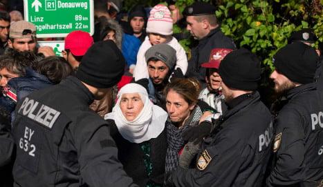 Risk of refugees freezing to death: Bavarian police