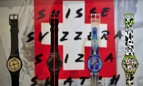 Rare Swatch watches to be auctioned in Geneva