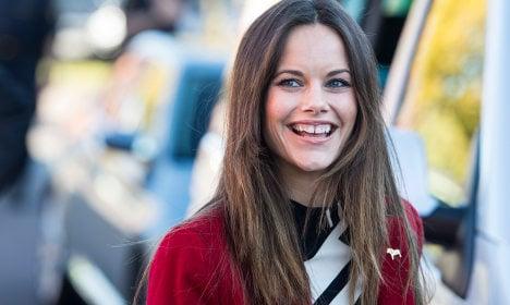 Princess Sofia returns to her Swedish roots