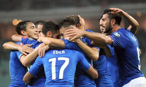 Italy cruise into Euro 2016 football finals