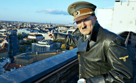 Hitler actor warns of threat to democracy