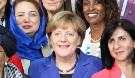 Angela Merkel tops Peace Institute Nobel tips