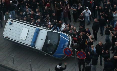 Cologne braces for mass 'hooligans' Sunday demo