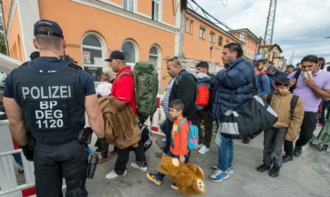 Refugees tell Germans: we won't stay forever