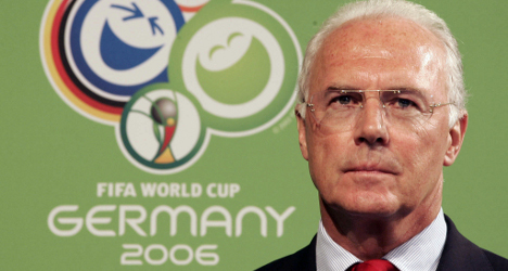German football great under Fifa suspicion