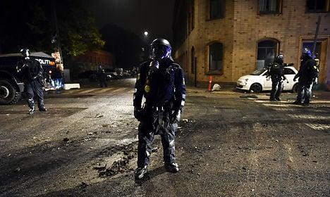 Demo leads to violent clash near Christiania