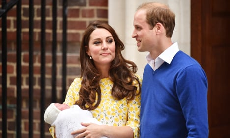 'Prince William' baby name blocked in France