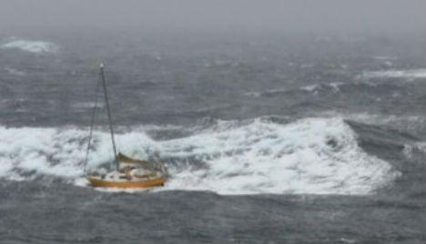 Losing yacht 'like watching friend drown'