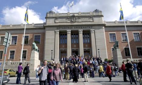 Gothenburg university provides refugee 'haven'