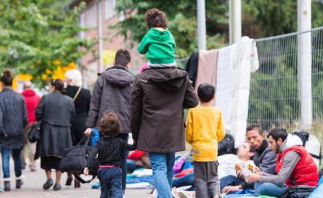 Mass violence erupts at Hamburg refugee home