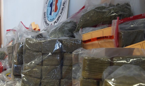 Over seven tonnes of cannabis seized in Paris