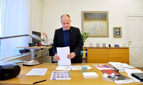Asylum stabber attacked senior Swedish minister