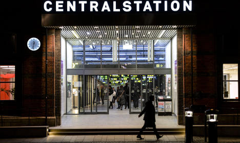 'Arabic' sign in Swedish station 'unreadable'