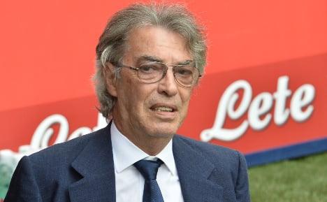 Moratti hints at selling Inter Milan stake