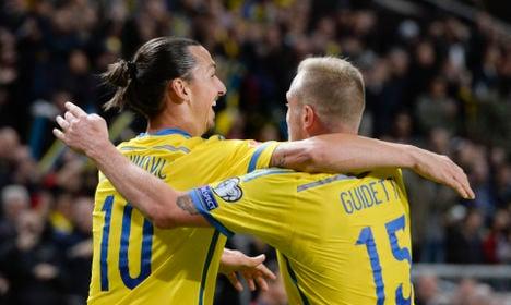 Sweden draws Denmark in Euro 2016 play-off