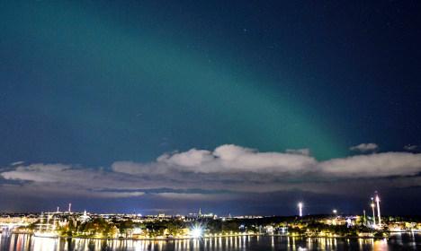 Stunning Northern Lights dazzle Swedish skies