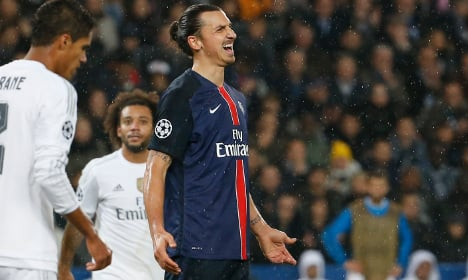 PSG and Ibrahimovic disappoint against Real