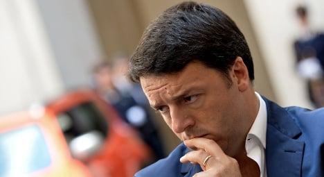 Renzi denies €600,000 dinner expense claims