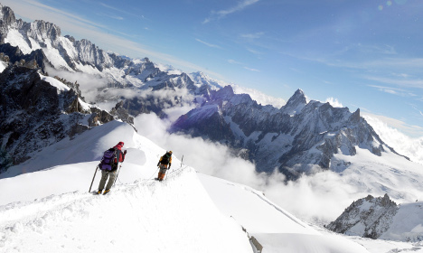 American climber dies after Mont Blanc fall