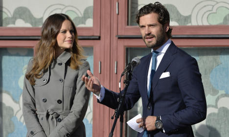 New Swedish royal couple expecting baby