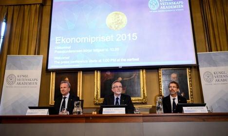 BLOG: Sweden's Nobel Prize in Economics 2015