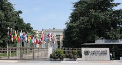 UN in Geneva opens to public for 70th birthday