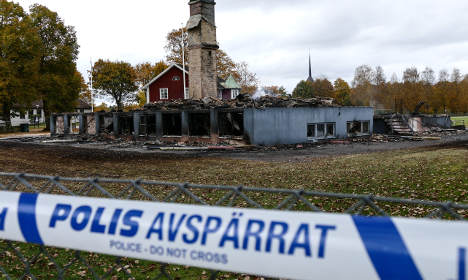Refugee homes become 'secret' after fire attacks