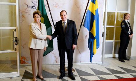 Jet deal on agenda amid Brazil visit to Sweden