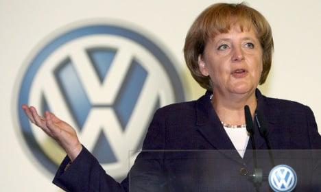 Merkel: VW scandal won't ruin Germany's image
