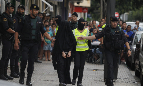 Ten suspected Isis recruiters held after raids in Spain and Morocco