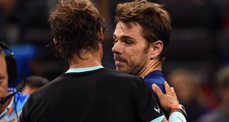 Revived Nadal whips flagging Wawrinka