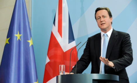 German business, public back UK EU reform plan
