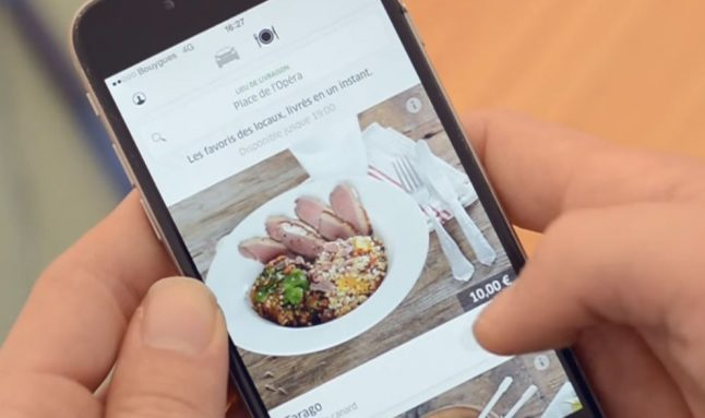 Uber launches delivery lunch service in Paris
