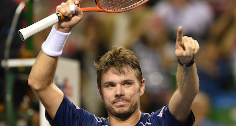 Wawrinka claims year's fourth title in Tokyo