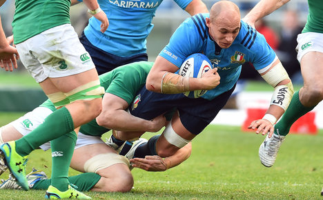 Parisse boosts Italy for must-win Ireland game