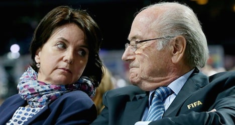 Blatter's daughter accuses media of 'hatred'